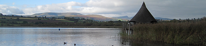 Llangorse Lake and Brecon Beacons