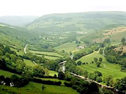 Upper Wye Valley, Mid Wales